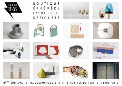 Flash Design Store - boutique éphémère d'objets de designers