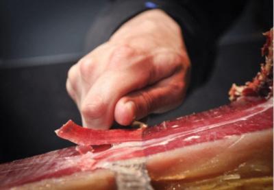 Record du monde Guiness de découpe de jambon