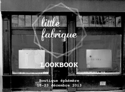Little Fabrique la boutique éphémère de Noël