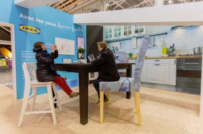 IKEA installe un appart surdimensionné à la Gare de Lyon