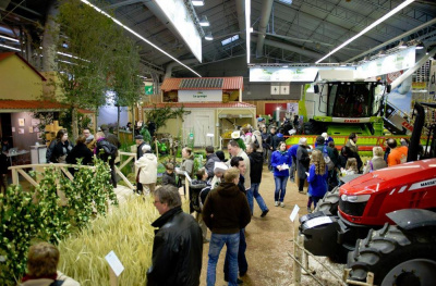 La ferme l 39 odyss e v g tale au salon de l 39 agriculture 2016 - Salon de l agriculture machine agricole ...