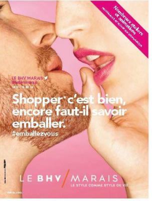 Emballez-vous et Shoppez Lucienne au BHV Marais