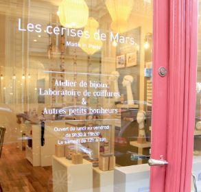 Les cerises de Mars s'installe à Paris