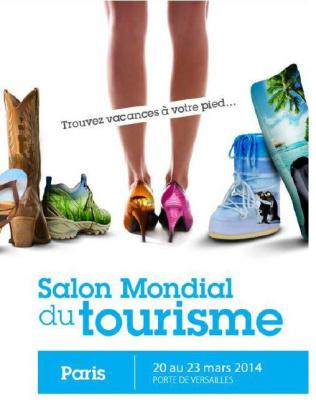 Le salon mondial du tourisme paris 2015 for Place gratuite salon agriculture