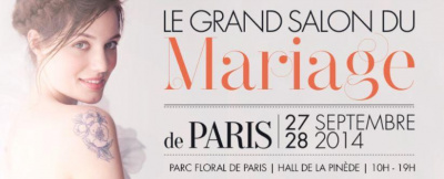 Le Grand Salon du Mariage de Paris 2014