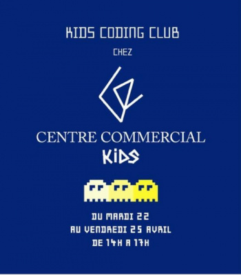 Master class Kids Coding Club chez Centre Commercial Kids