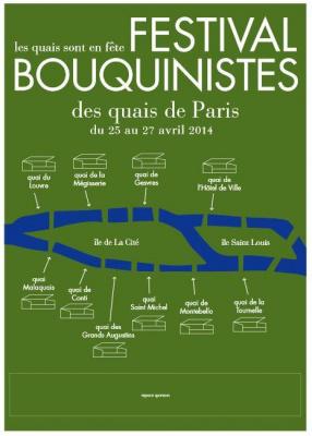 Festival Bouquinistes 2014 sur les quais de la Seine