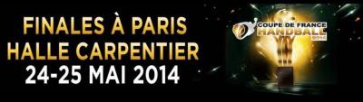 Finales Coupe de France de Handball 2014 à la Halle Carpentier