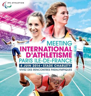 Meeting d'Athlétisme Paralympique de Paris Ile-de-France