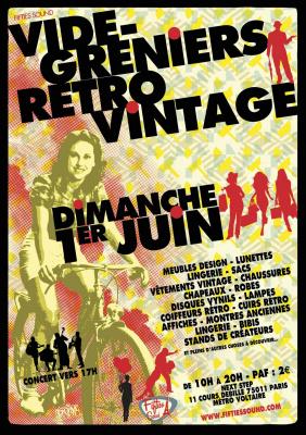Vide Greniers Rétro Vintage de Paris chez Next Step