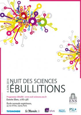 La Nuit des Sciences 2014 de l'ENS