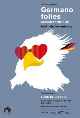 Germanofolies 2014 - Concert allemand au Jardin du Luxembourg