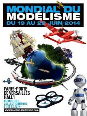 Salon Mondial du Modélisme 2014