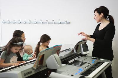 journée portes ouvertes à la Yamaha Music School de Paris-Bercy