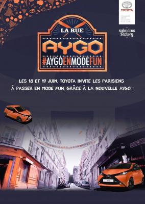 La Rue Aygo ouvre ses portes dans le 18ème