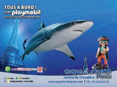 Tous à bord à l'Aquarium de Paris
