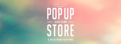 Pop-Up Store Midipile.com