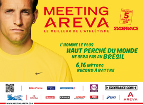 Meeting AREVA 2014 au Stade de France