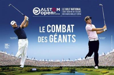 Alstom open de france de golf 2014