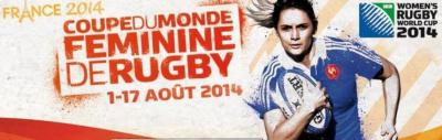 Coupe du monde féminine de rugby 2014 à Jean Bouin
