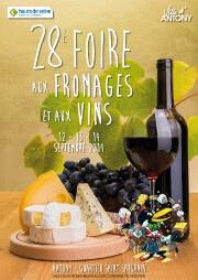 Foire aux Fromages et aux Vins d'Antony 2014
