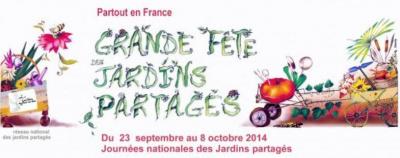 Fête des Jardins Partagés 2014