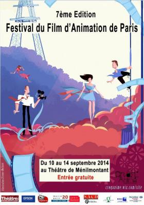 Croq'Anime 2014, le festival du film d'animation de Paris