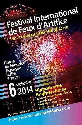 Festival International de Feux d'Artifice - Les Couleurs du Val d'Oise