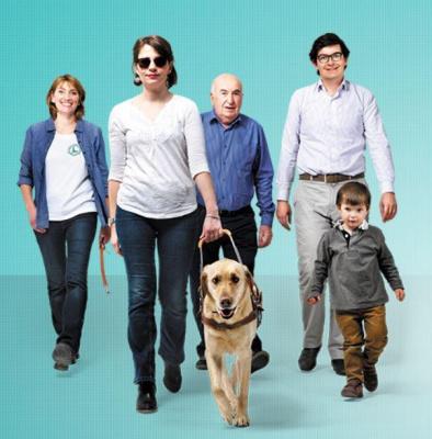 Semaine du chien guide d'aveugle 2014