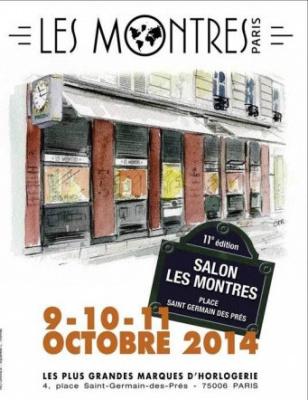 Salon Les Montres 2014 Place Saint Germain des Près