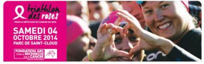 Triathlon des Roses en faveur du dépistage du cancer du sein