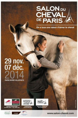 Salon du cheval de Paris 2014