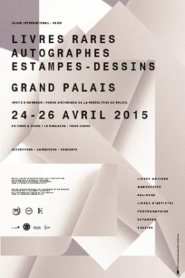 Le Salon du Livre Ancien, de l'estampe et du dessin 2015 au Grand Palais