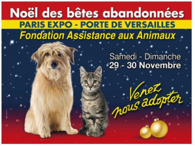 Le no l animaux 2014 porte de versailles for Salon d adoption porte de versailles