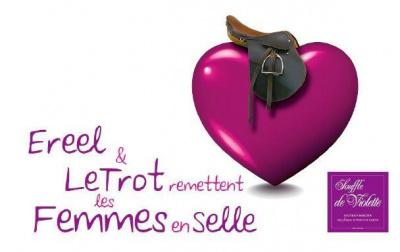 Grand Prix Ereel pour l'action Souffle de Violette à l'hippodrome Paris-Vincennes