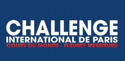 Challenge International de Paris 2015- Coupe du Monde de fleuret hommes