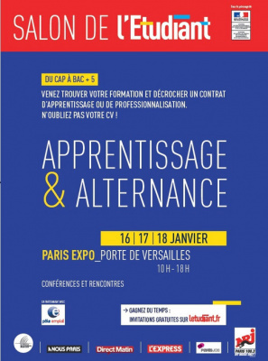 Salon de l 39 apprentissage et de l 39 alternance de paris 2015 for Salon de l apprentissage et de l alternance
