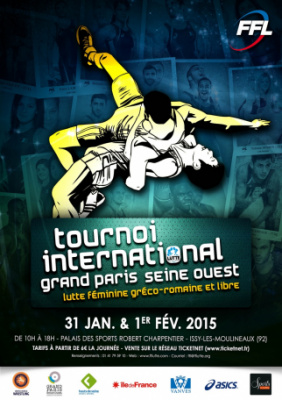 Lutte - Tournoi International Grand Paris Seine Ouest 2015