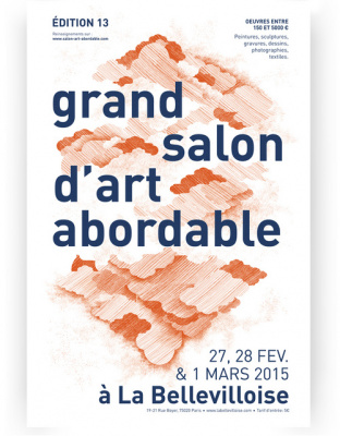Le Grand Salon d'Art Abordable 2015 à la Bellevilloise