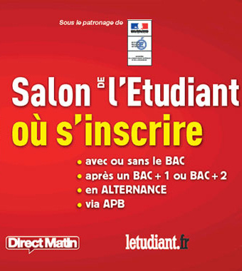 Salon de l 39 etudiant o s 39 inscrire 2016 for Porte de champerret salon de l etudiant