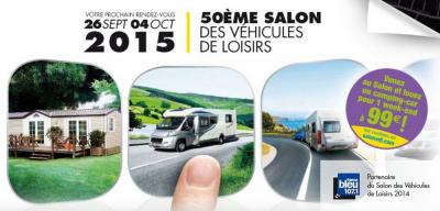 Salon des v hicules de loisirs 2015 - Salon des loisirs creatifs paris ...