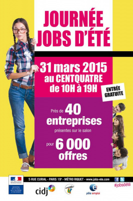 Journ es jobs d t 2015 au centquatre 104 - Salon job d ete lille ...