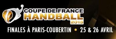 Finales Coupe de France de Handball 2014 à Coubertin