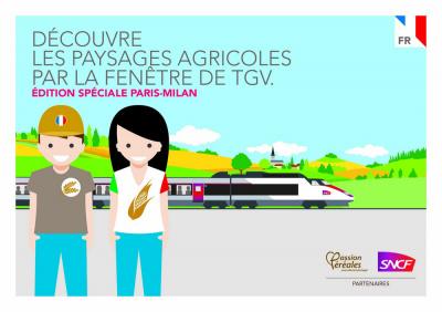 Opération SNCF-Passion Céréales : à la découverte des paysages agricoles