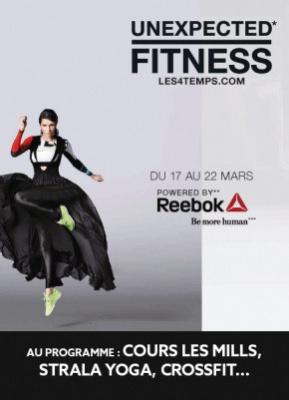 Unexpected Fitness au CNIT-Paris La Défense et à So Ouest