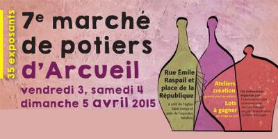 Marché de potiers d'Arcueil 2015