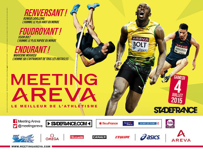 Meeting AREVA 2015 au Stade de France