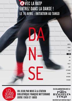 Les Jeudis de la danse sur la ligne 14