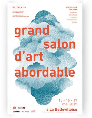 Le Grand Salon d'Art Abordable 2015 à la Bellevilloise