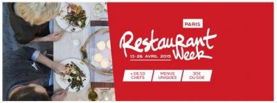 LaFourchette lance  la Paris Restaurant Week